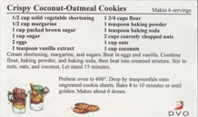 Decorative Recipe Card