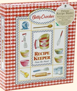 Betty Crocker Recipe Binder