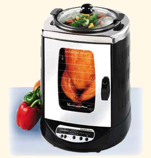 Betty Crocker Vertisserie Plus - rotisserie oven