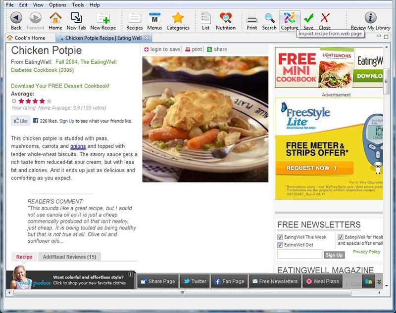 cook n is the 1 best selling cooking software