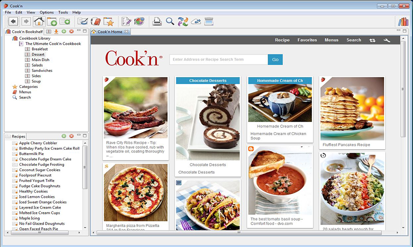 Cook'n is the #1 Best-Selling Recipe Organizer