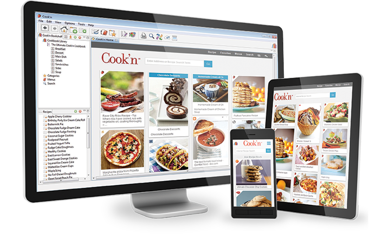 cook n is the 1 best selling cookbook software