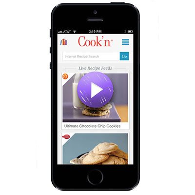 Cook'n iPhone Mobile App