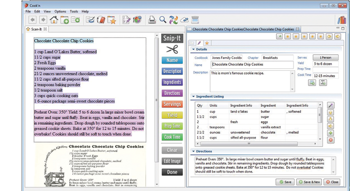 free recipe organizer software for windows 7