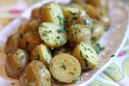 St Patrick S Day Boiled Potatoes