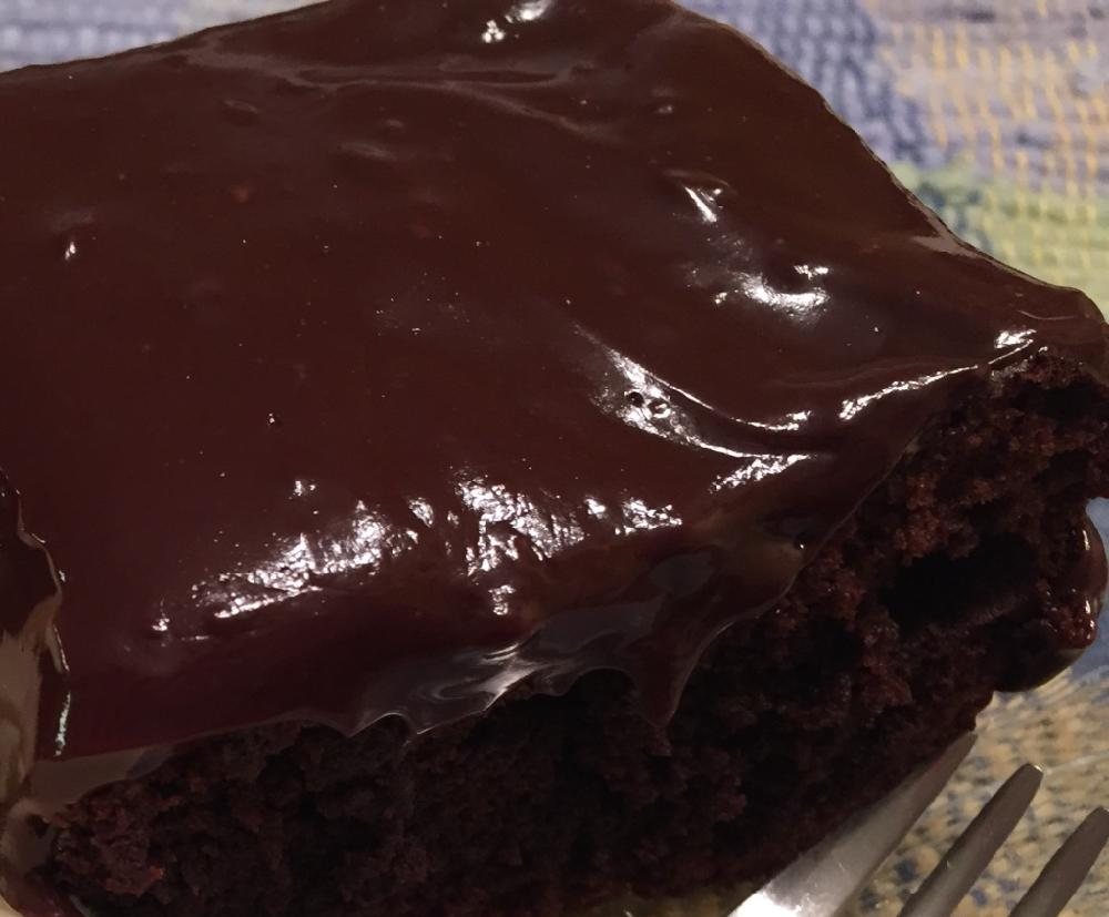 Chocolate Ganache Glaze