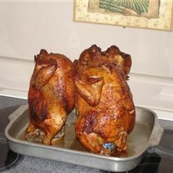 Oven Roasted Beer Can Chicken
