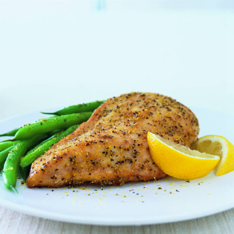 Classic Lemon Pepper Chicken
