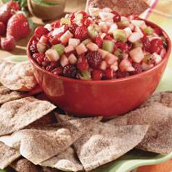 Annie's Fruit Salsa with Cinnamon Chips