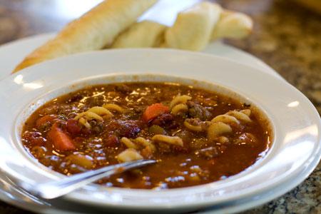 Olive Garden Pasta E Fagioli Soup In A Crock Pot Recipe And Video
