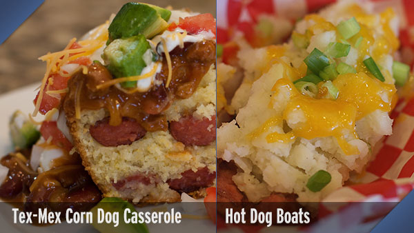 Tex-Mex Corn Dog Casserole