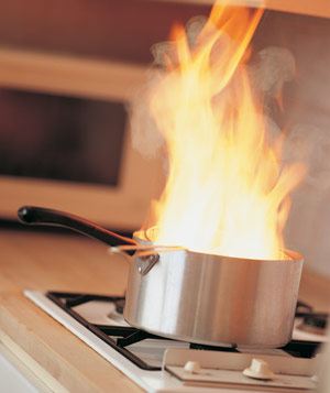 Put The Lid On Kitchen Fires