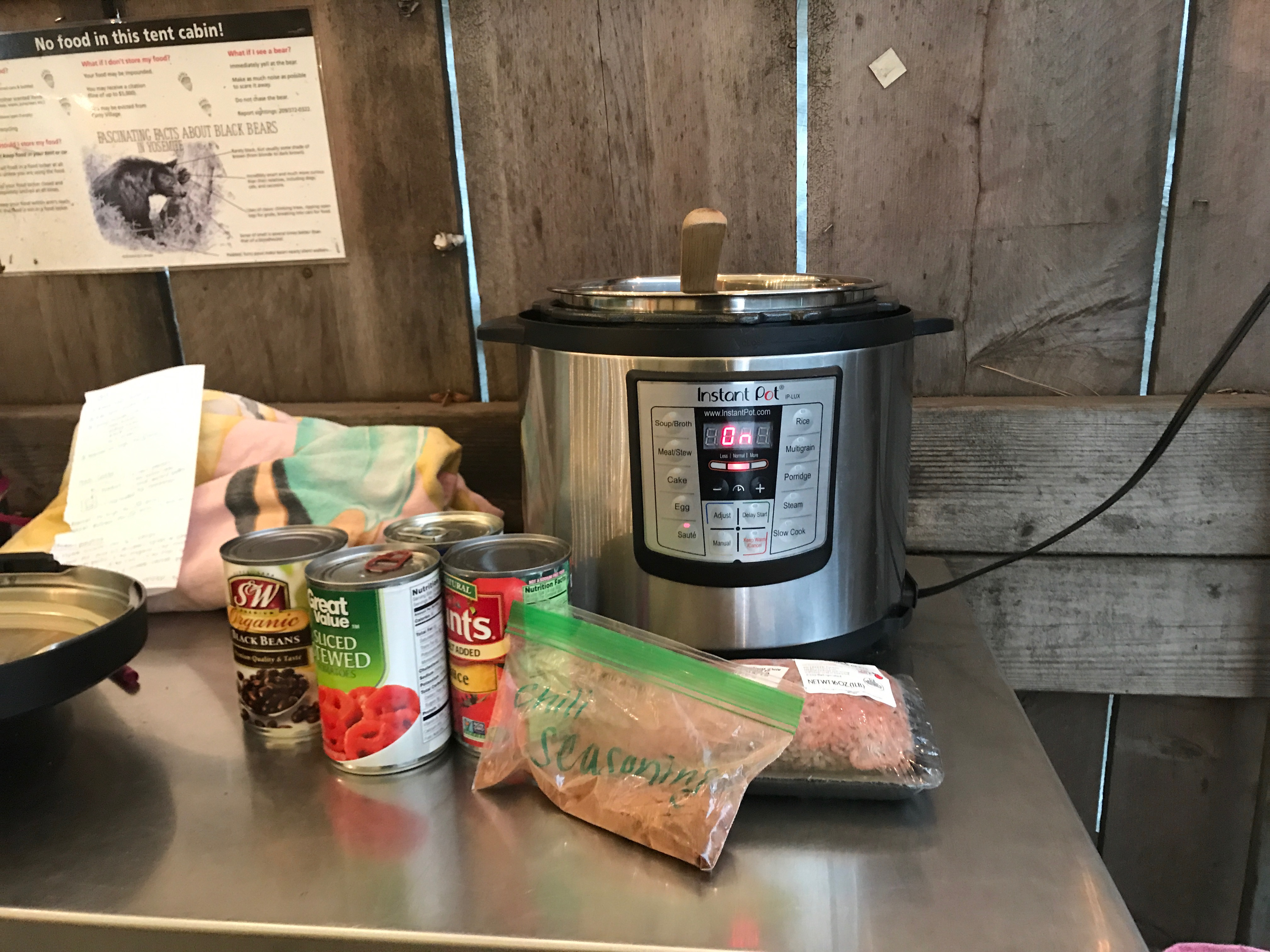 Pinterest Always Saves The Day And This Instance Was No Exception Here Are A Few Of My Instant Pot Hits While Camping