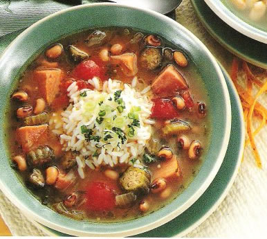 Black-Eyed Peas and Pork Gumbo