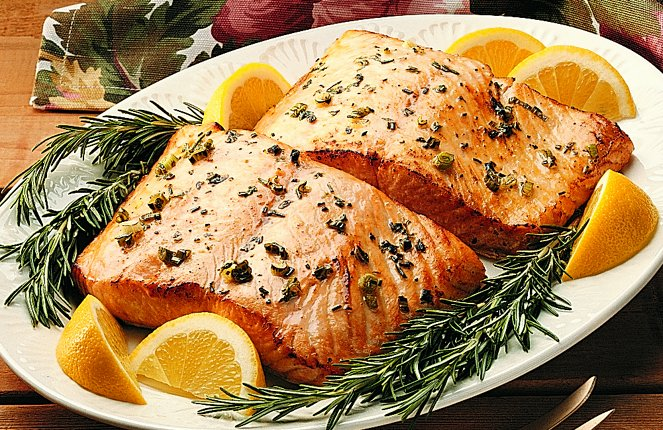Easy recipes for salmon baked