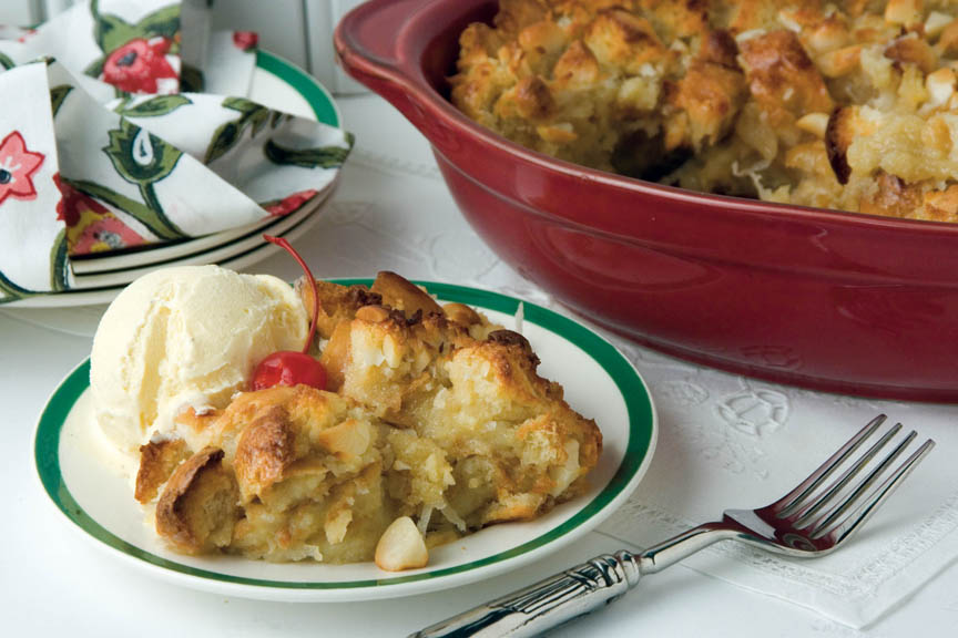 Coconut Milk Bread Pudding Recipe — Dishmaps