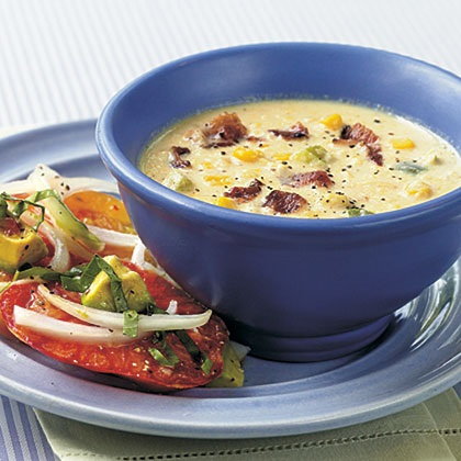 fresh corn salad corn chowder the best corn chowder corn chowder corn ...