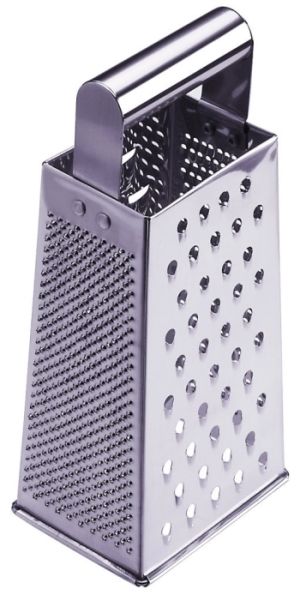 Correctly Use A Box Grater