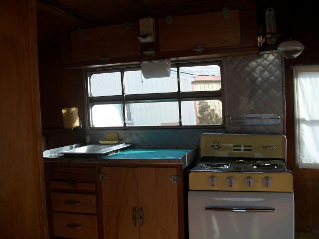 Tiny Kitchen Set Up
