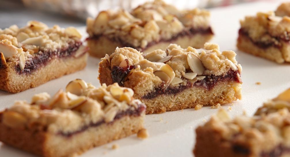 Giant Almond Crumb Cookie Recipe — Dishmaps
