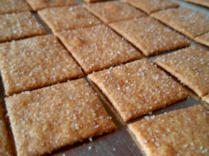 Homemade wheat thins easy and healthy reinhart says his thin wheat cracker is his own knockoff of the iconic kraft nabisco wheat thin his recipe follows which is adapted from his book whole solutioingenieria Images
