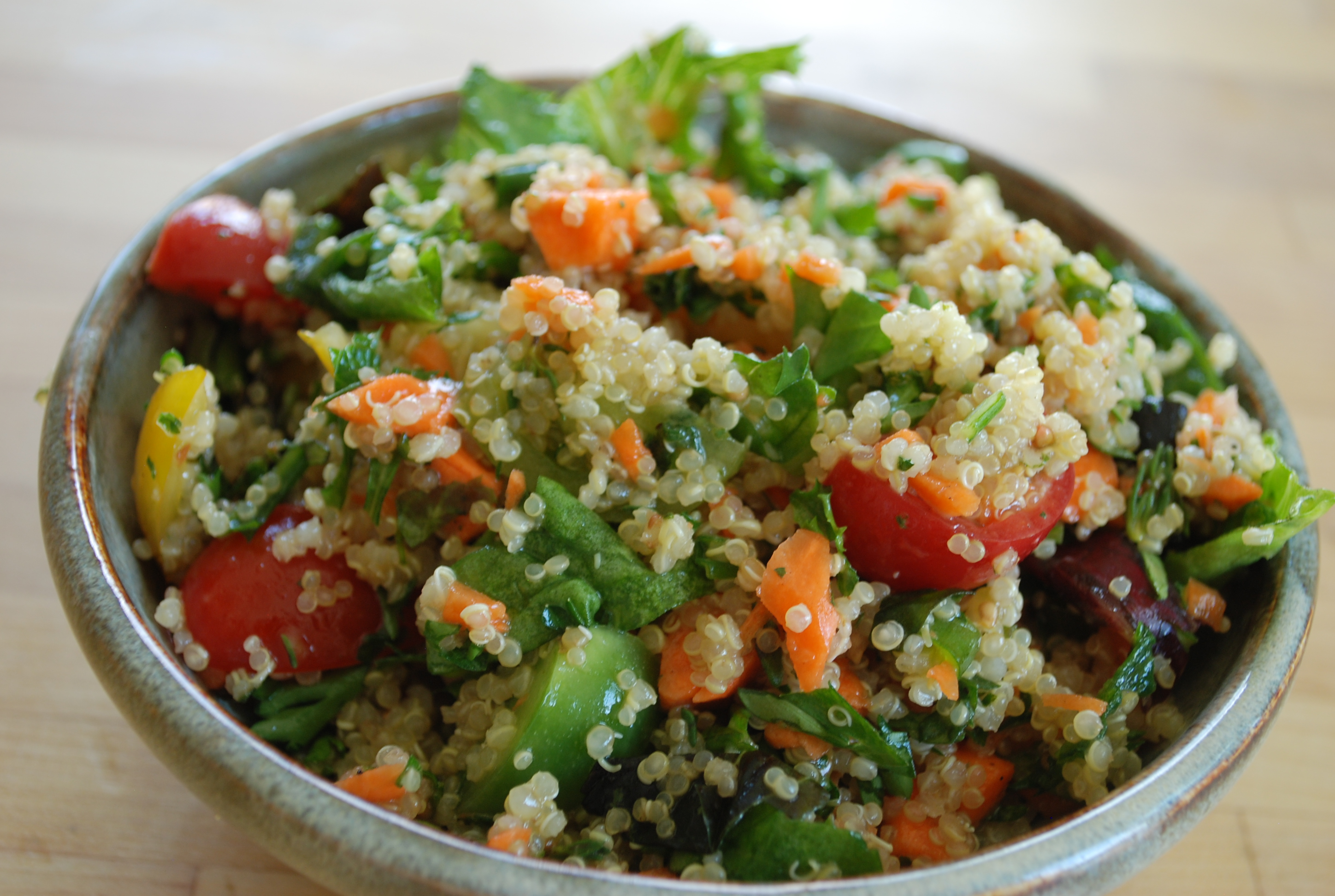 My Other Favorite Way To Eat It Is To Throw In A Half A Cup Of Cooked Quinoa  Into Any Salad It Adds Fun Texture, But Because Of Its Mild Taste,