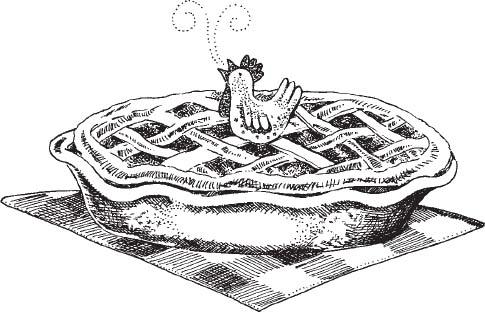 Image result for clip art chicken pie