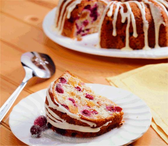 Cranberry-Apricot Coffee Cake