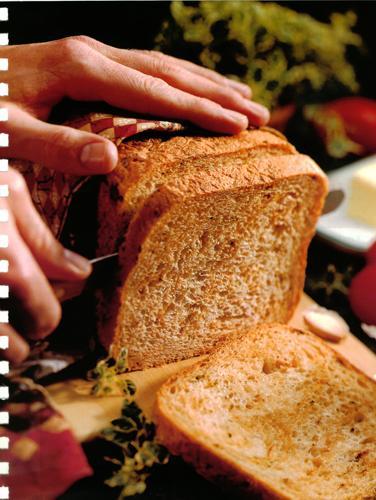 Parmesan Sun-Dried Tomato Bread