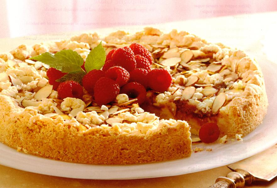 Raspberry Almond Coffee Cake images
