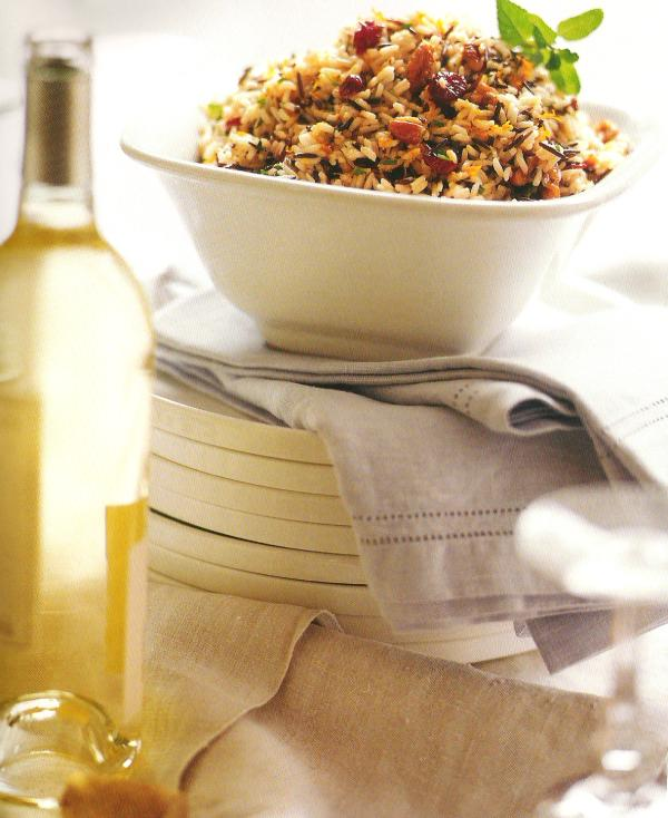 Wild Rice, Pecan, And Dried Cranberry Salad