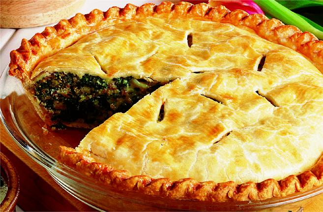 Caliries For Whole Foods Spinach Pie