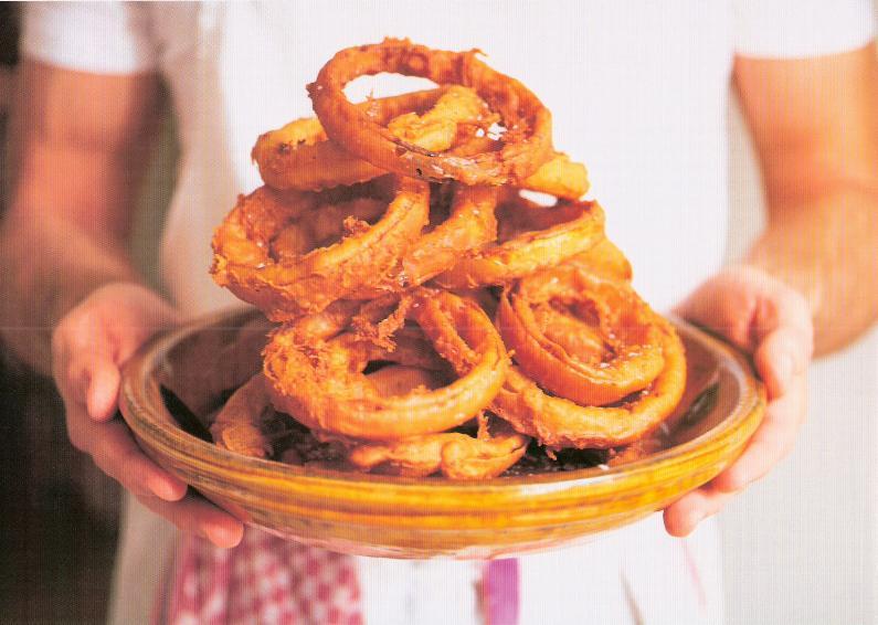 Vidalia Onion Rings With Ale Batter