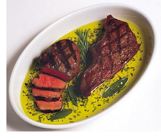 Florentine-Style Steak / Bistecca alla Fiorentina
