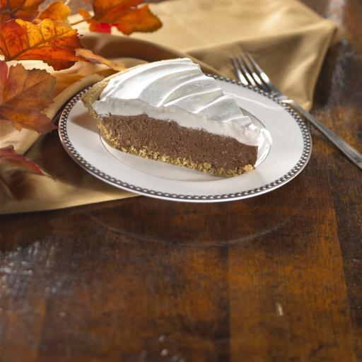 Hazelnut Coffee Pudding Pie