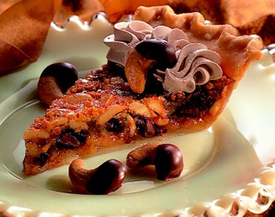 Chocolate Cashew Pie