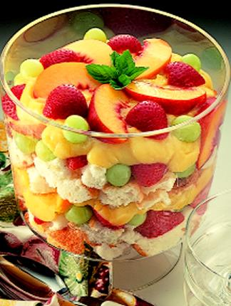 ... trifle red white and blueberry trifle angel fruit trifle recipe yummly