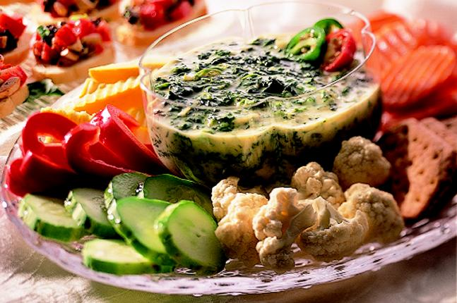 how to make spinach cheese dip