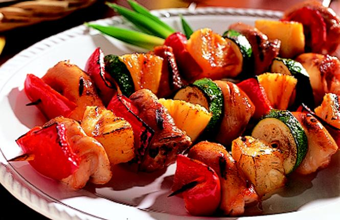 Teriyaki Grilled Chicken Kabobs