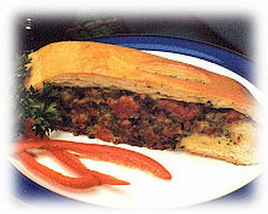 Spinach and Sausage Stromboli