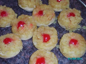 Pineapple Upside-Down Biscuits