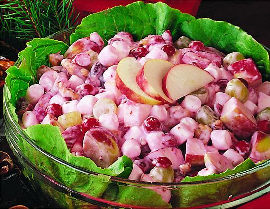 Cranberry Waldorf Salad Recipe Marshmallows