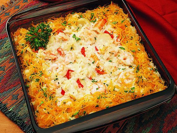 Florida seafood casserole for Fish casserole recipes