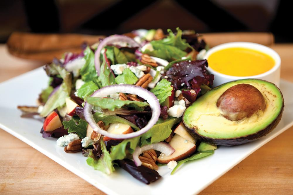 Avocado And Mango Salad With Passion Fruit Vinaigrette ...
