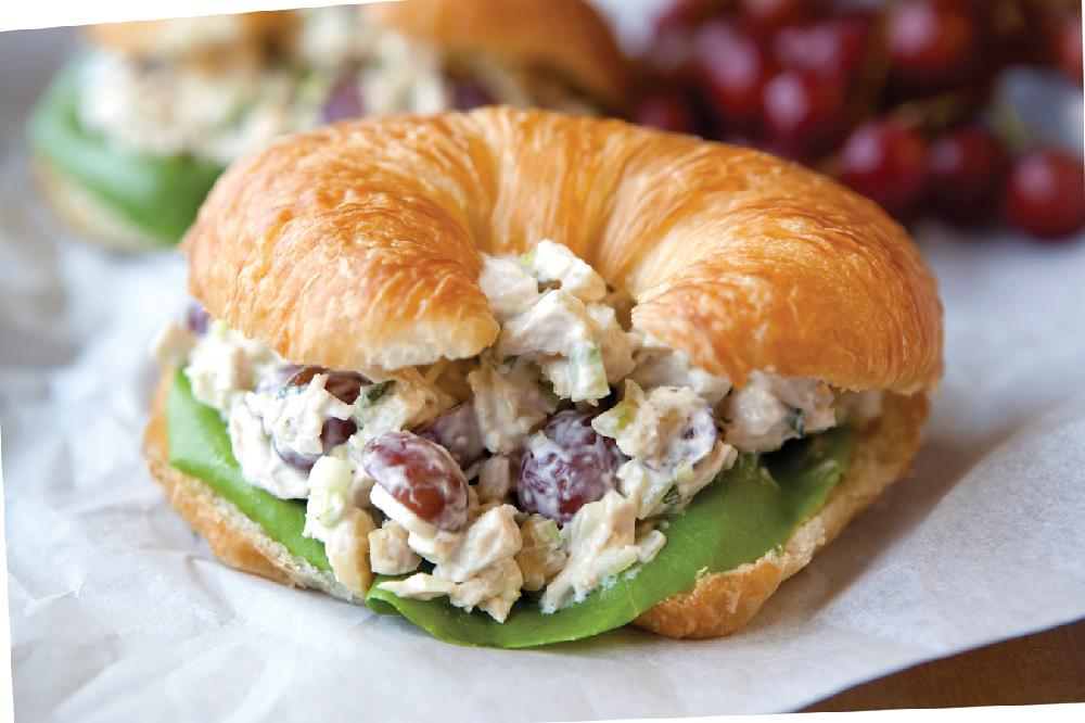 recipe for a chicken salad sandwich