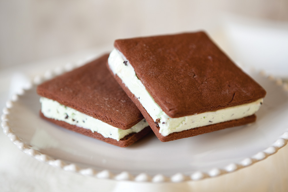 Homemade Cookie Ice Cream Sandwiches