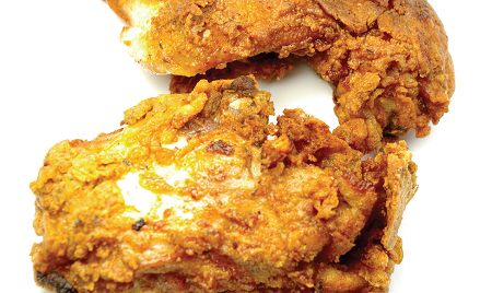 Techniques or Extra Crunchy Fried Chicken Recipe to result in ...