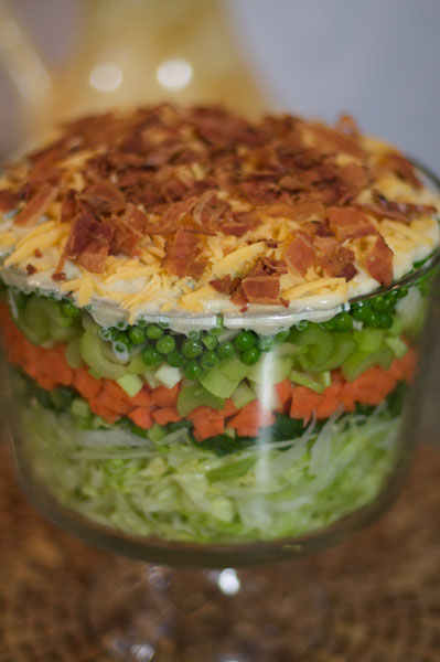 Seven Layer Salad Pictures to pin on Pinterest