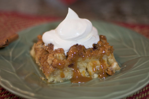 Christmas Bread Pudding Recipe — Dishmaps