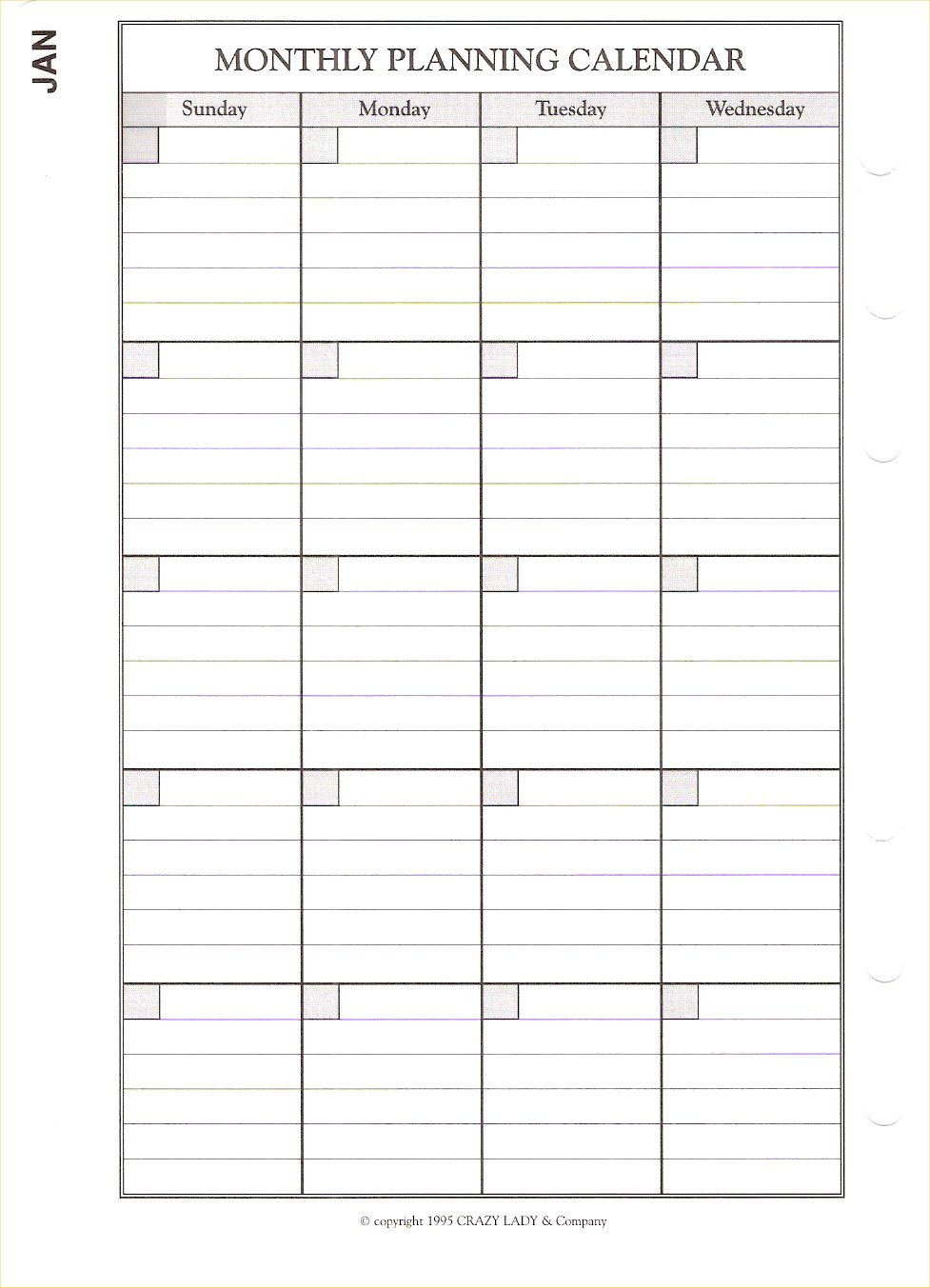 Html Calendar Planner Code : Planner pages big crazy lady day